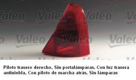 "Valeo 086699 - RENAULT CLIO""98 B.OPTICO POST.DCHO"