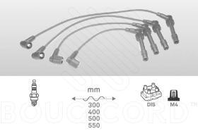 Bougicord 8121 - JUEGO DE CABLES