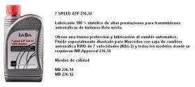 Iada 20705 - LIQUIDO TIPO ATF 7 SPEED ATF 236.14 1 LITRO