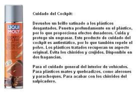 LIQUI MOLY 1598 - LIMPIADOR DE PLASTICOS 300 ML