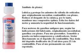 LIQUI MOLY 1010 - SUSTITUTO DEL PLOMO 250 ML