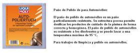 LIQUI MOLY 1595 - PAÑO DE PULIDO PARA AUTOMOVILES