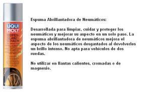 LIQUI MOLY 1609 - ESPUMA ABRILLANTADORA DE NEUMATICOS 400 ML