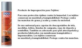 LIQUI MOLY 1594 - PRODUCTO DE IMPREGNACION PARA TEJIDOS 400 ML