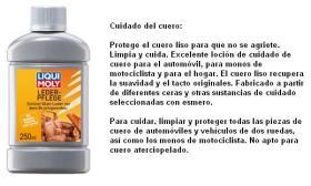 LIQUI MOLY 1554 - CUIDADO DEL CUERO 250 ML
