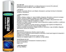 TRATAUTO 843654897423 - LIMPIADOR DE CONTACTOS DIELECTRICO