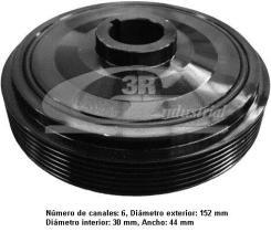 3RG 10202 - POLEA CIGUEÑAL 128 X 44 - 5PK